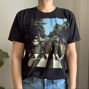 THE BEATLES Abbey Road T Shirt Official Licensed